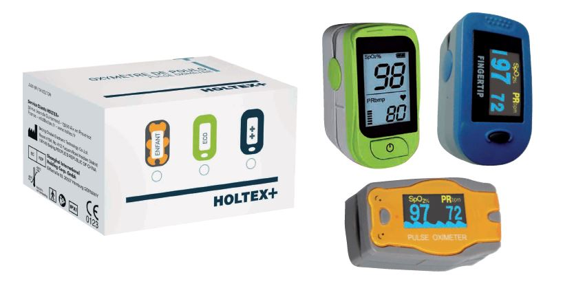 Oxymètres de pouls Holtex