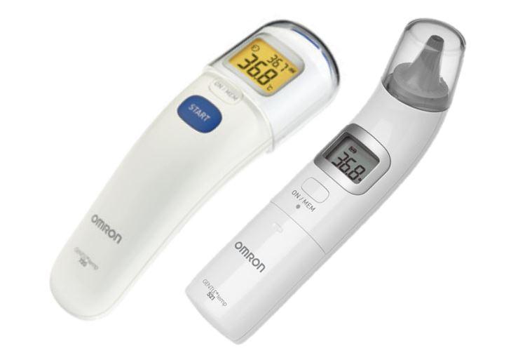 Gamme thermometres Omron